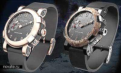 *Непотопляемые* часы, сделанные из корпуса Титаника