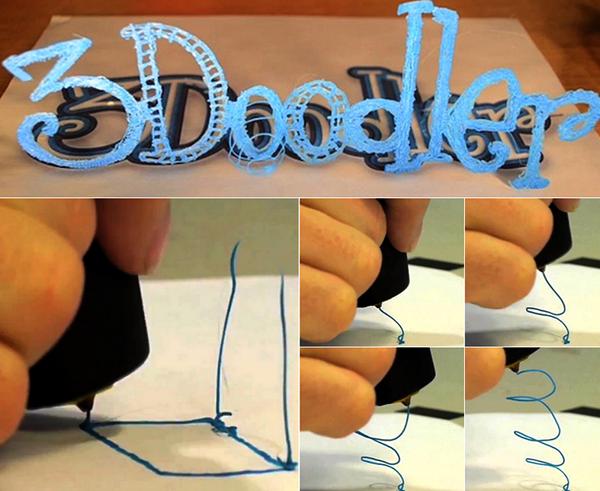 Ручка 3Doodler: единственный в мире компактный 3D принтер