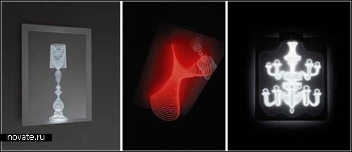 Светильники с 3D-эффектом. Лампы-голограммы от Маркуса Тременто (Marcus Tremento)