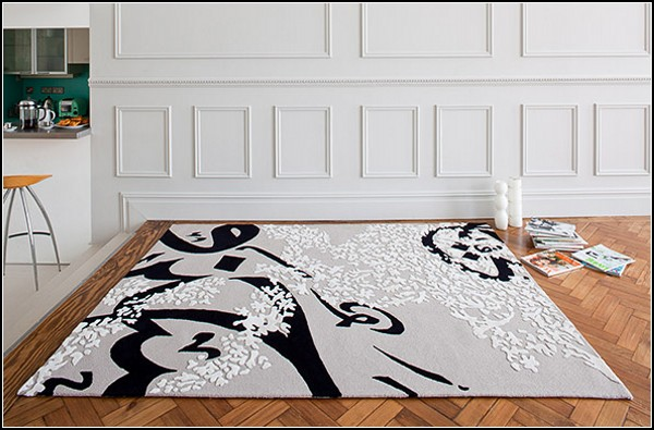 Серия Three Dimensional Rugs от компании Top Floor
