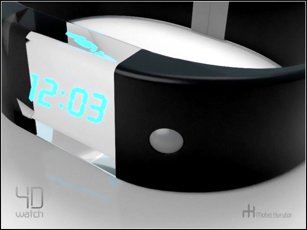 4D watch. Часы с четырьмя дисплеями