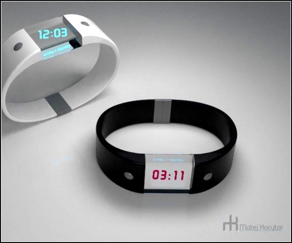 4D watch. Концептуальные часы с акселерометром