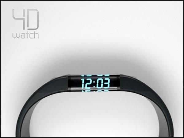4D watch. Концепт Матеха Коритара (Matej Korytar)