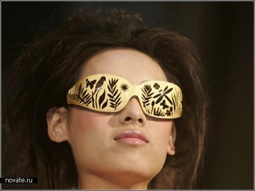 Очки из золота