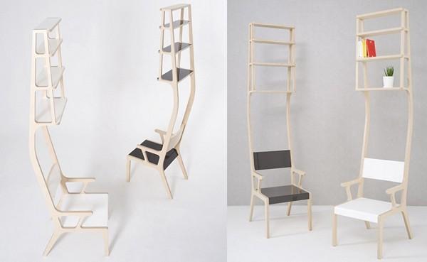 Еще стулья-полочки от Seung-Yong Song