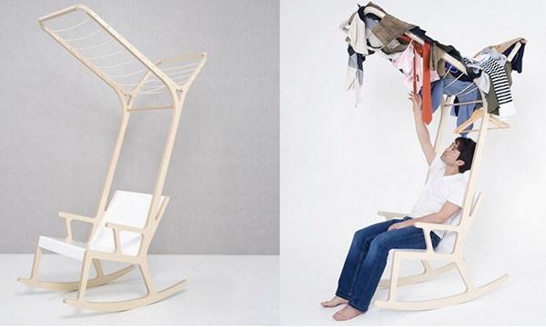 Кресло-качалка Objet E от Seung-Yong Song