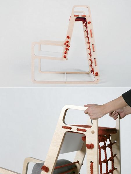 Abooba Chair, дизайнерский стул для отдыха и игр