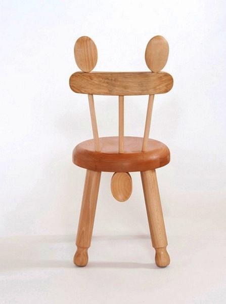 Ложки и скалки как материалы для стульчиков Alba chairs от Roger Arquer