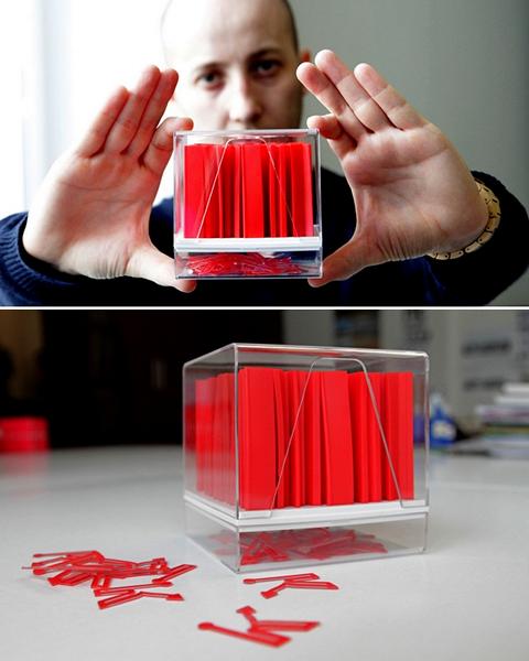Дизайнерский набор канцелярии Кубикс (Cubics) от Александра Жуковского