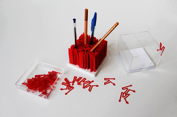 Канцелярский набор Кубикс (Cubics). Дизайн Александра Жуковского (Россия)