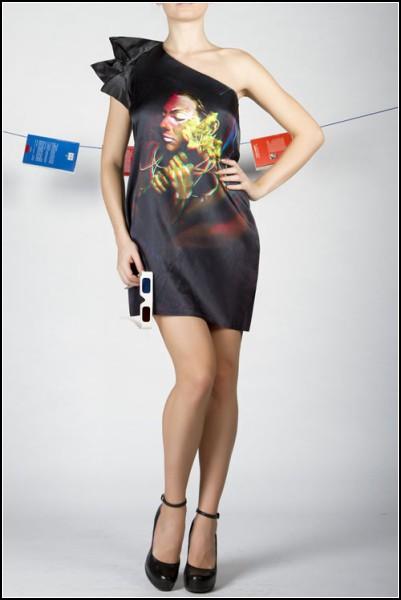 Трехмерное платье от Алины Эне (Alina Ene)