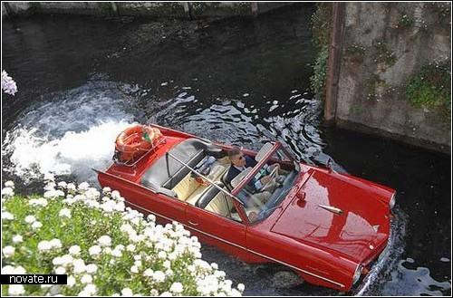 Amphicar. Единственный серийный автомобиль-амфибия
