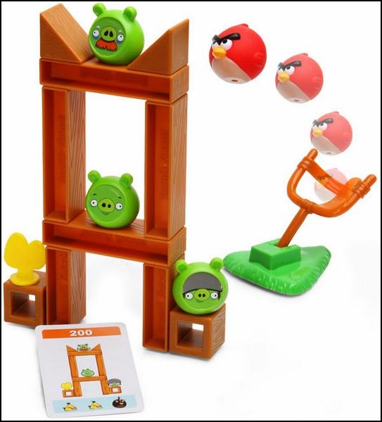 Angry Birds, увлекательная настольная игра по мотивам компьютерной