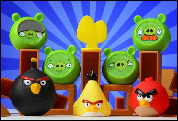 Angry Birds, компьютерная игра, ставшая настольной
