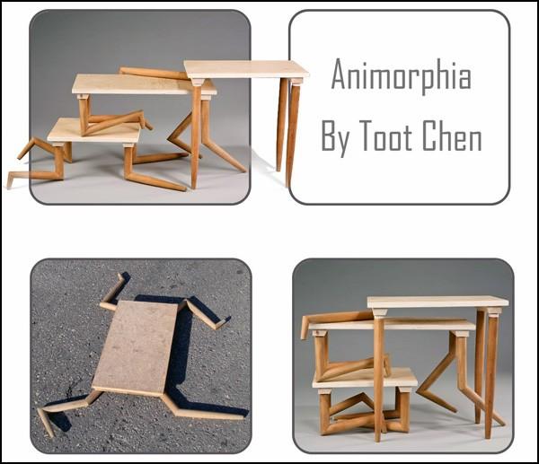Animorphia от израильского дизайнера Тут Чена