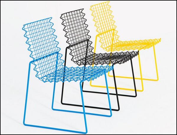 Стул AntiStress Chair от польского дизайнера Bashko Trybek