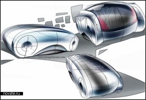 Концептуальный транспорт-капсула Arbo