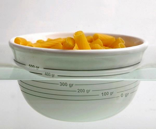 Физика на службе у дизайна. Чаша-весы  Archimedes Food Bowl для взвешивания еды