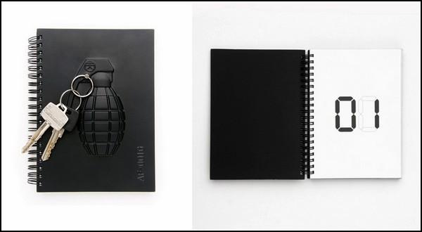 Armed Notebooks, вооруженные блокноты от миролюбивой компании Molla Space