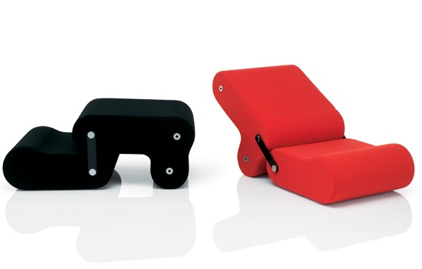 Multichair, дизайнерское кресло для современного интерьера
