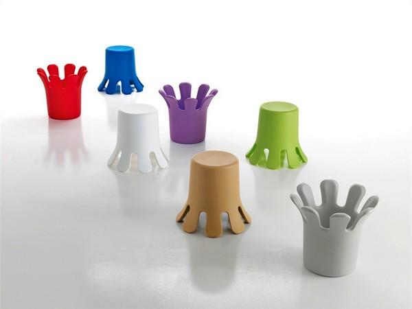 Яркая полиэтиленовая мебель Splash от дизайнера Кристиана Ауса