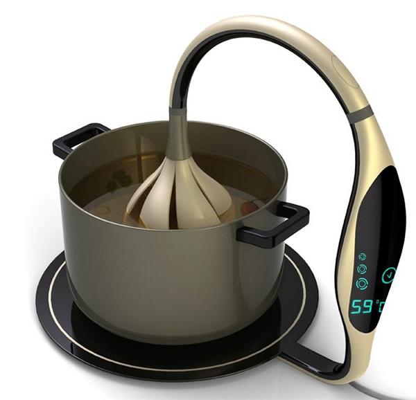 Bloom cooking device. Концептуальный гаджет для кухни от Aakanksha Rajhans