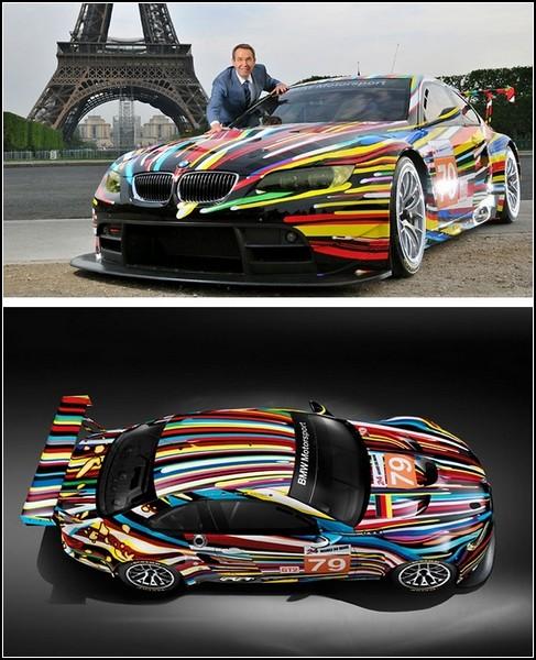 Расписной BMW M3 GT2 в проекте Art Car