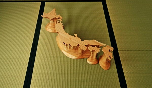 Мебель Back Up Japan, резервная копия Японии от Soichiro Kanbayashi