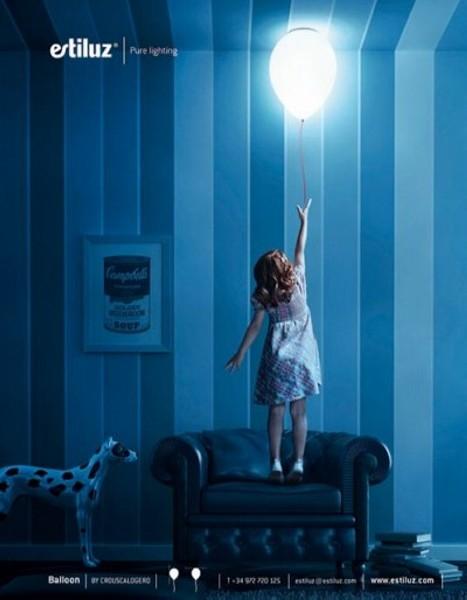 Светящийся воздушный шарик Balloon Lamp от Estiluz