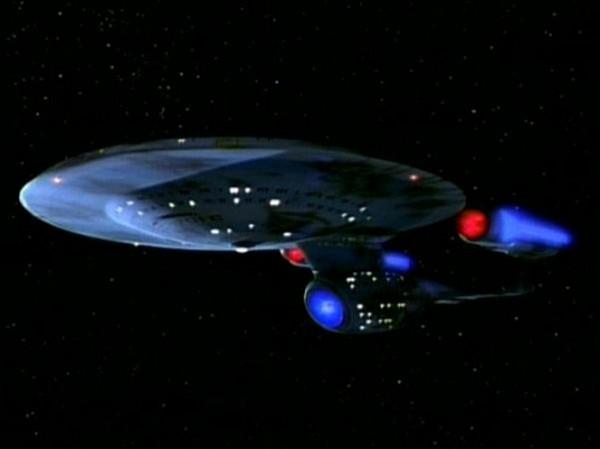 Тот самый звездолет из Star Trek