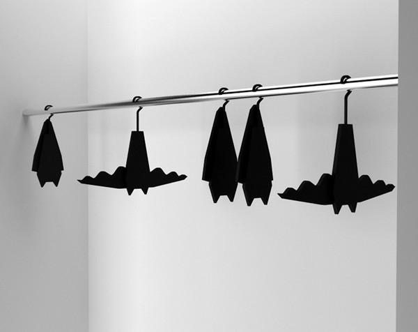 Bat hanger, вешалка для одежды от Veronika Paluchova