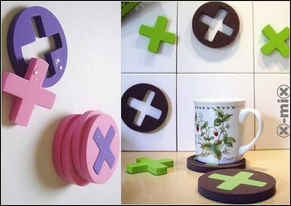 Tic Tac Toe Coasters