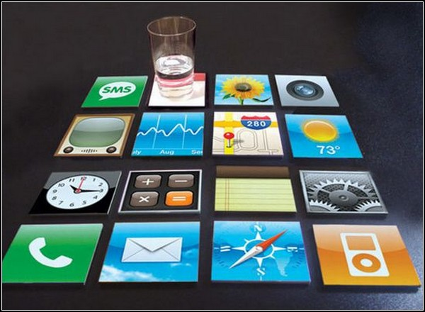 iPhone coasters