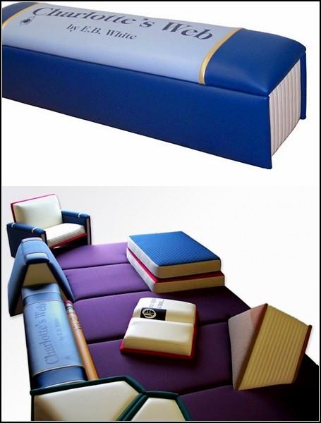 Книжные интерьеры от Big Cozy Books