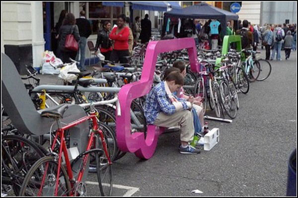 Авто-велосипедные стойки от Cyclehoop