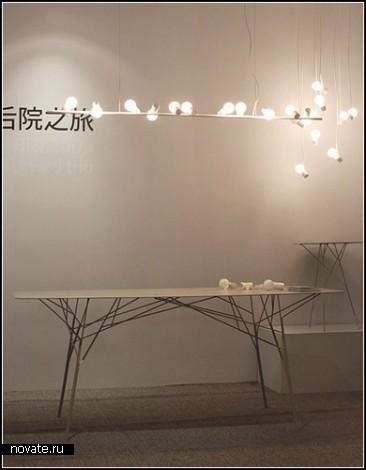 Лампочки-птички. Проект Bird от Zhili Liu