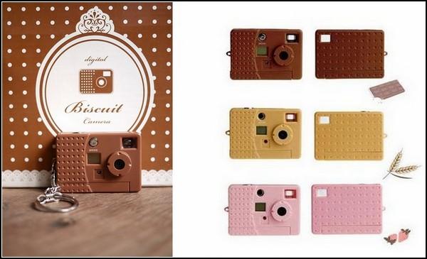 Крохотные фотоаппараты серии Biscuit Cameras и Juice Cameras