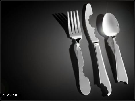 Bite Silverware. Дизайн-проект Марка Рейджельмана II