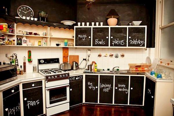 Школьная доска на кухне. Развлечение и польза