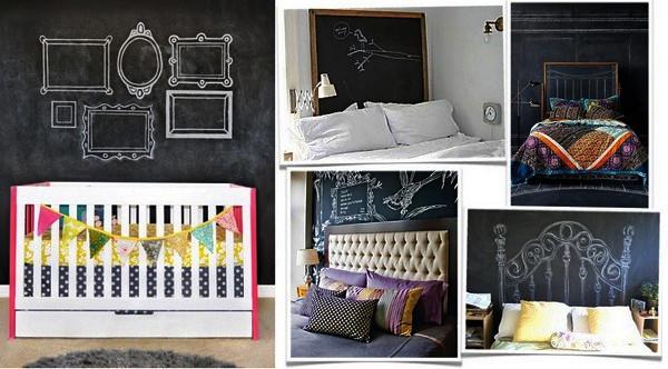 В интерьере спальни найдется место для ностальгии по школе