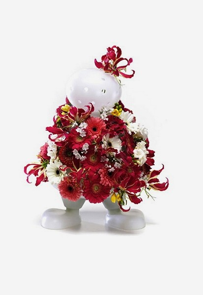 Bloom My Buddy. Серия дизайнерских ваз в виде человечков