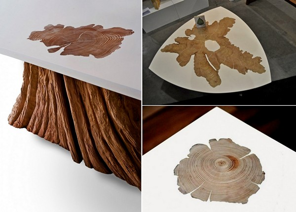 Стильные журнальные столики из натурального дерева от MTH Woodworks