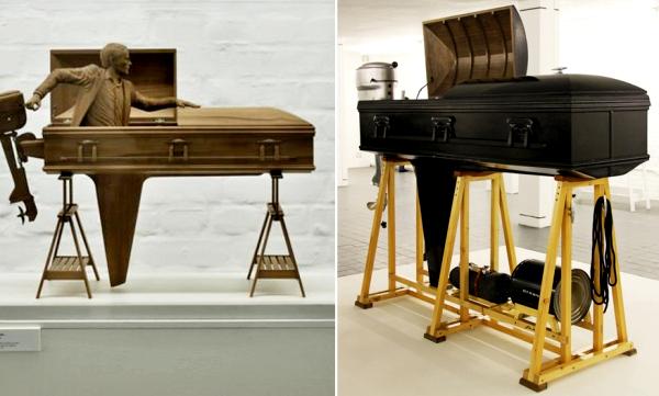 Лодка-гроб The Boat Coffin от Sebastian Errazuriz
