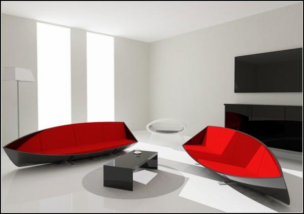 Лодка-диван Boat Sofa от Bongyoel Yang
