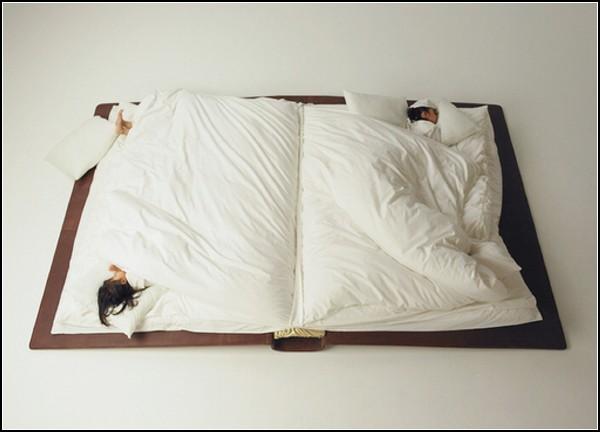 Книга-кровать Book Bed, проект Юсукэ Сузуки (Yusuke Suzuki)