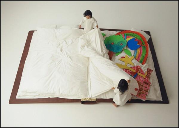 Book Bed, книга-кровать для самых маленьких