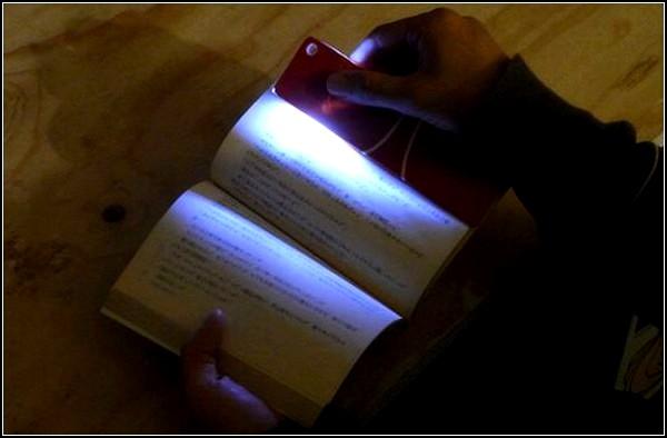 Bookmark Light, альтернативный вариант закладки-фонарика