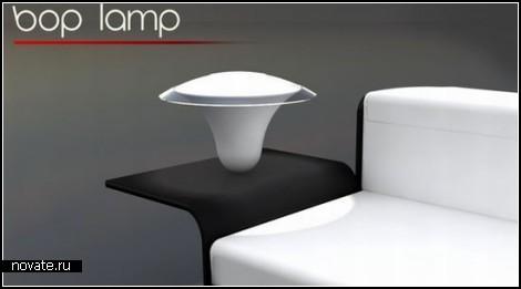 Bop Lamp. Лампа-неваляшка от Baita Bueno