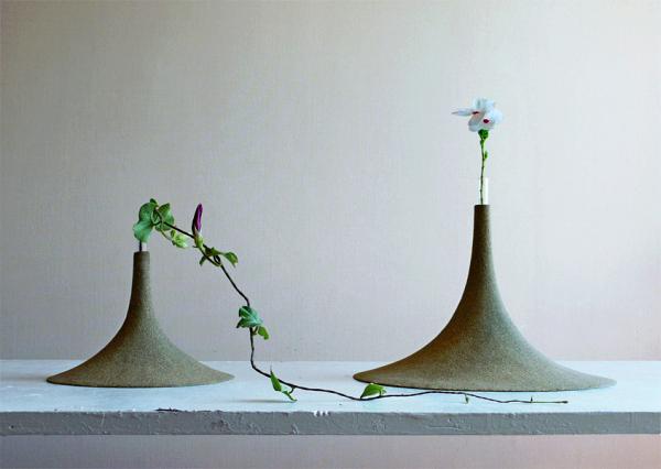 Sand: коллекция необычных вазочек из песка