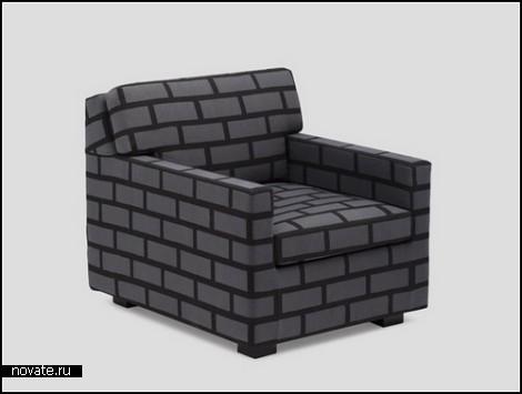 Мебель из кирпича и бетона. Коллекция Bricks&Mortar
